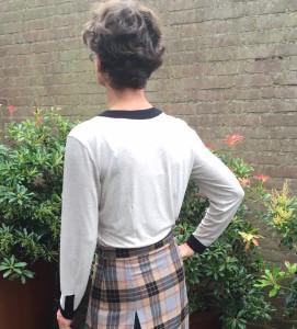 achter blouse x