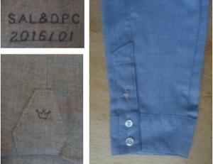 dress shirt feminine styled details