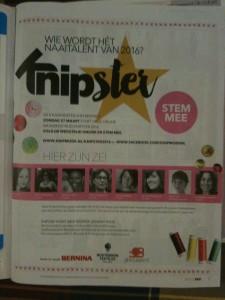 KNIPster sewing award 2016