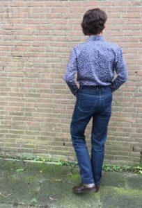 Sewing Massimo Dutti Overhemd