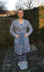 Rabbit Fabric Morning Robe