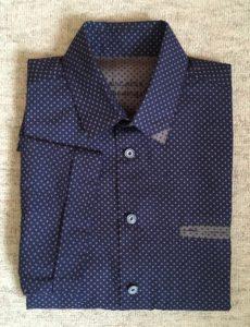 Theo overhemd korte mouwen versie