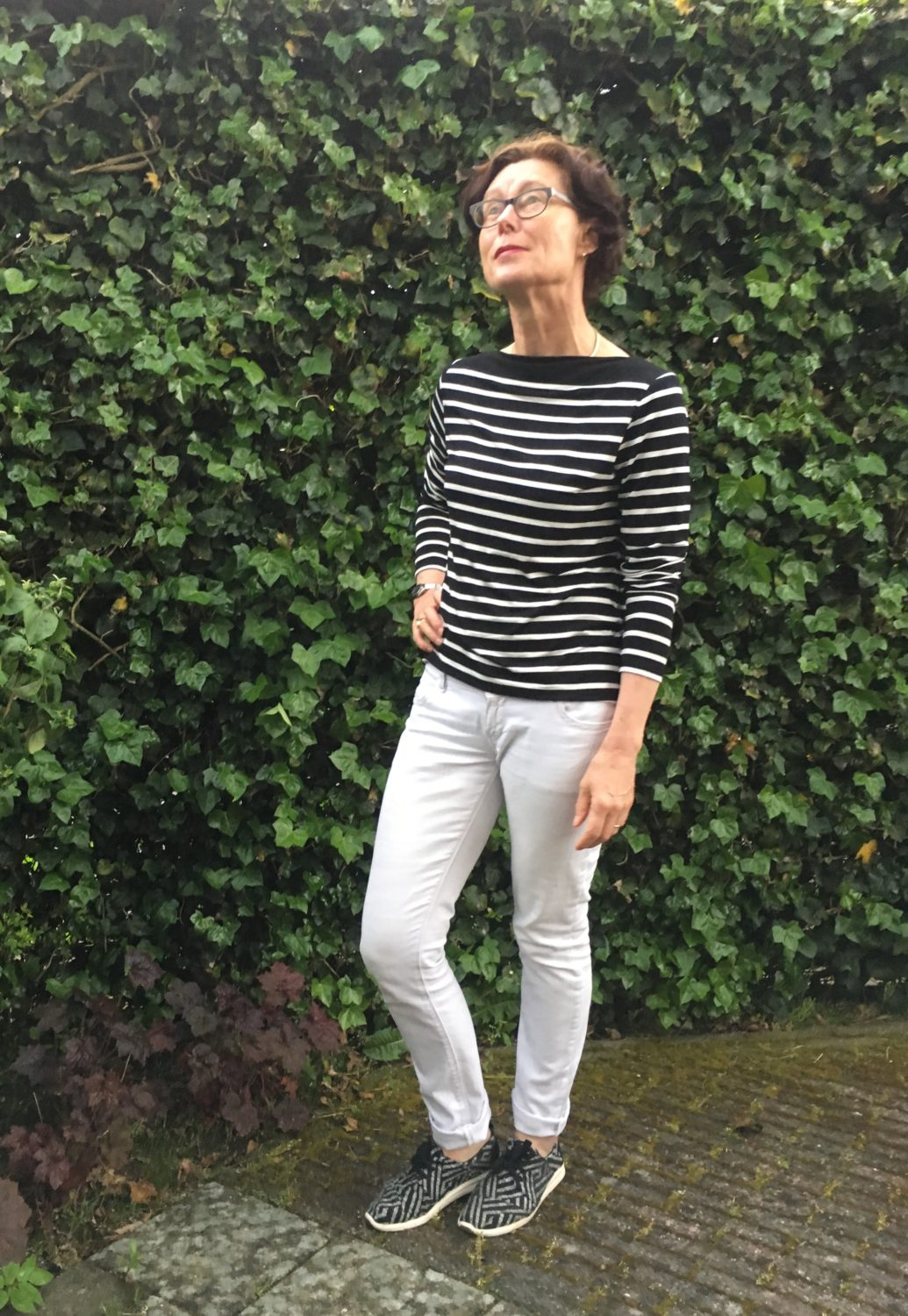 Striped Maxi Tank Dress becomes Breton Top