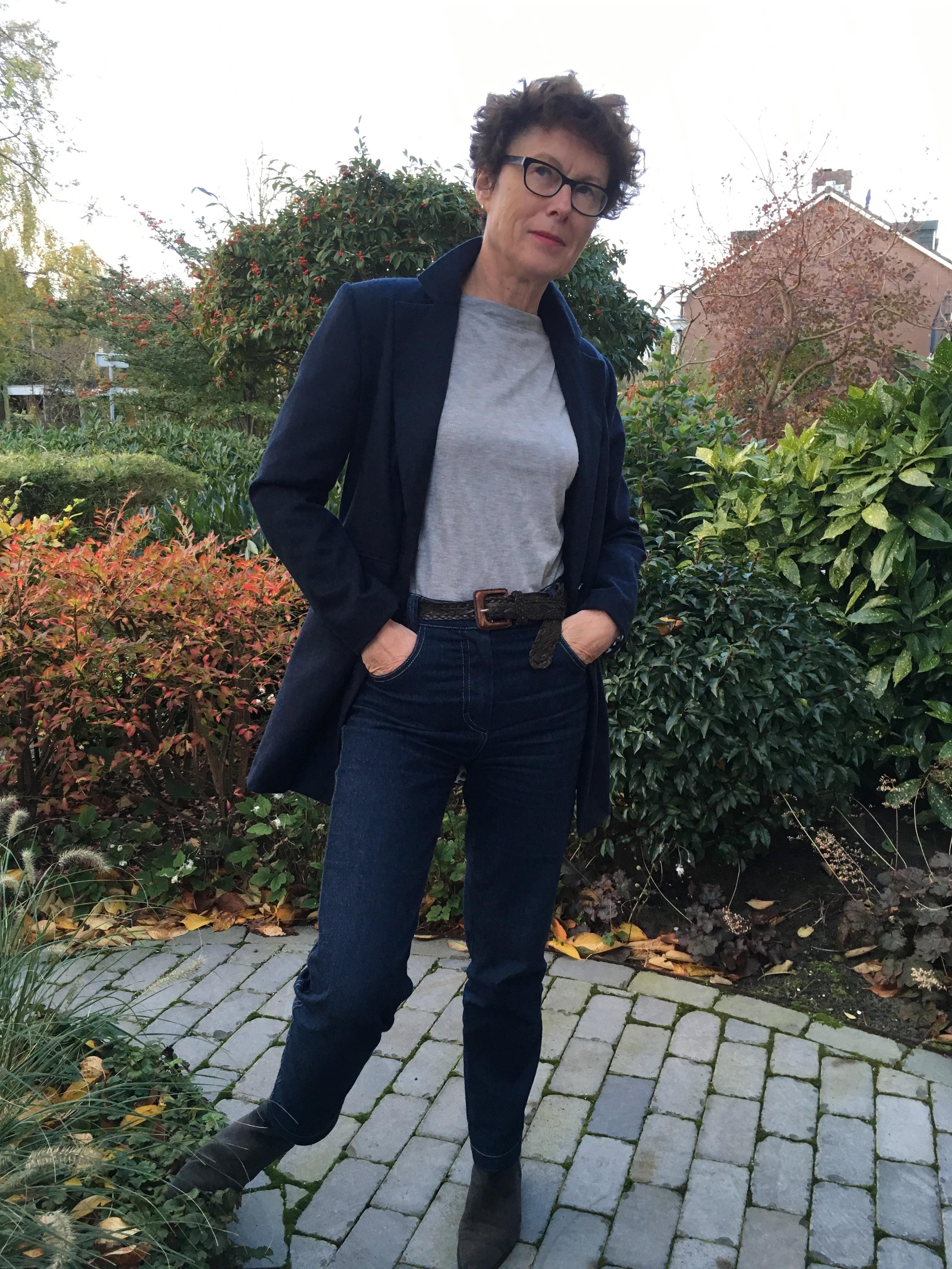 Fashion Style nummer 1 lange blazer