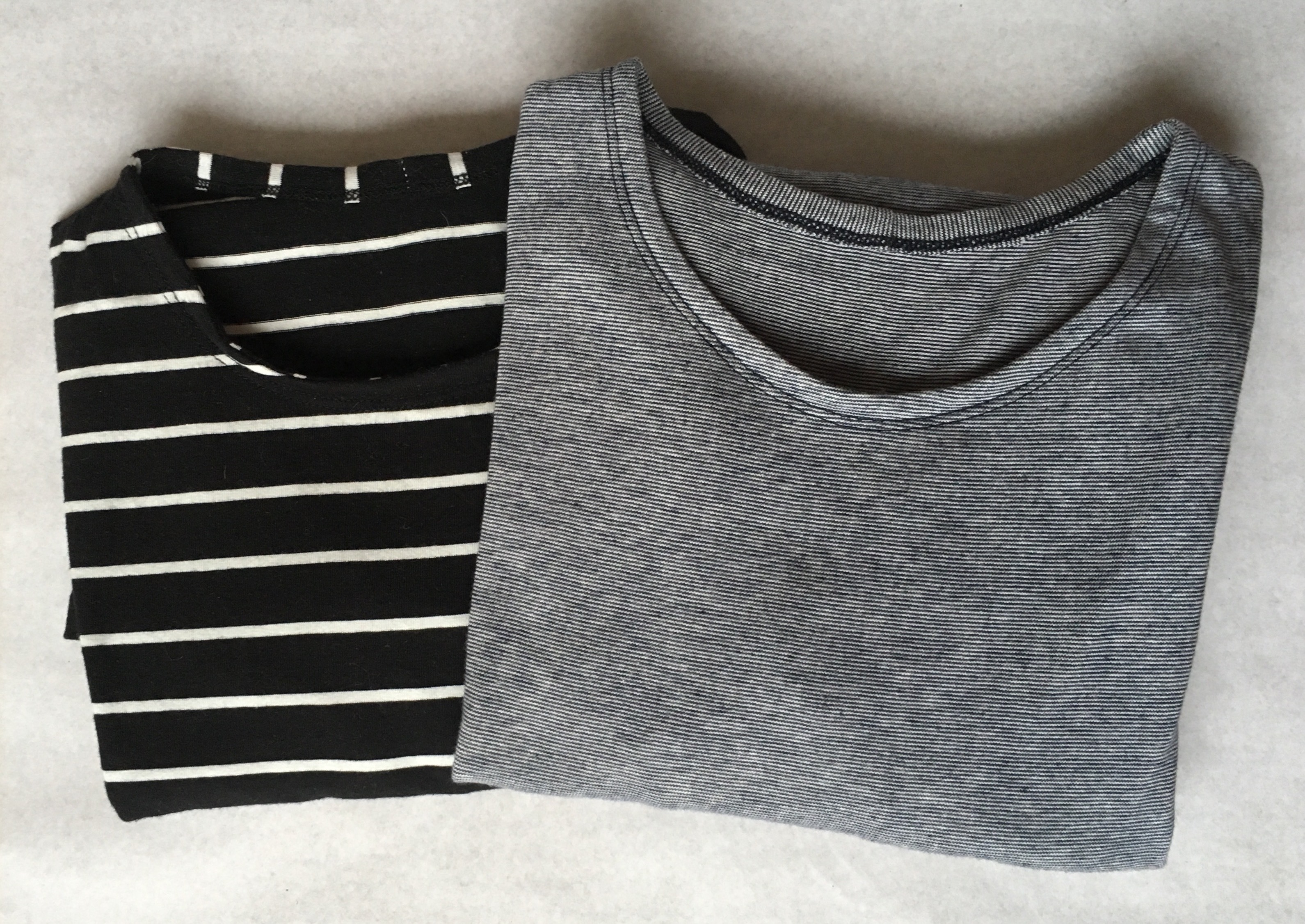 Second serie homemade basic T-shirts