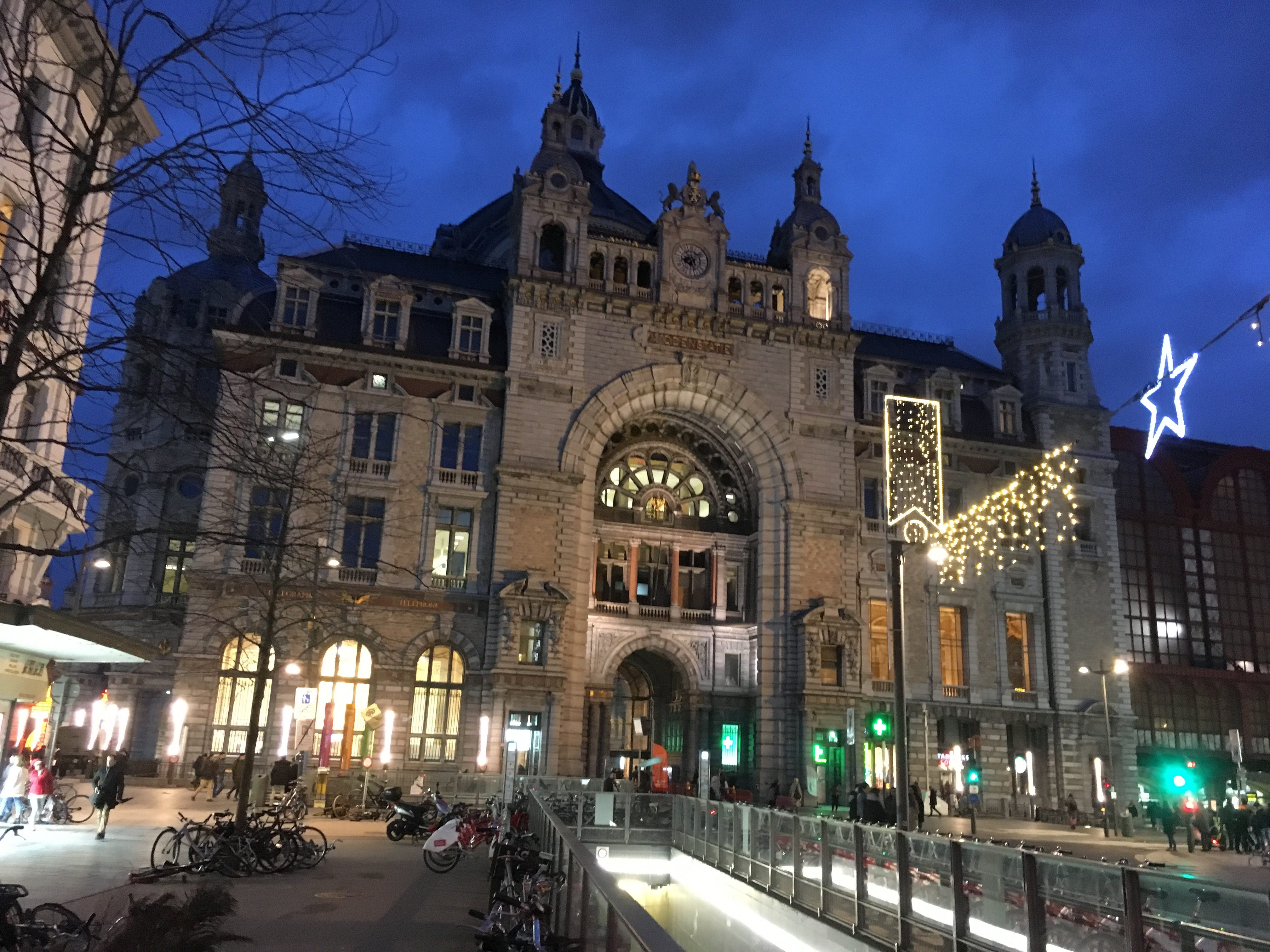drie uur stoffen shoppen Antwerpen