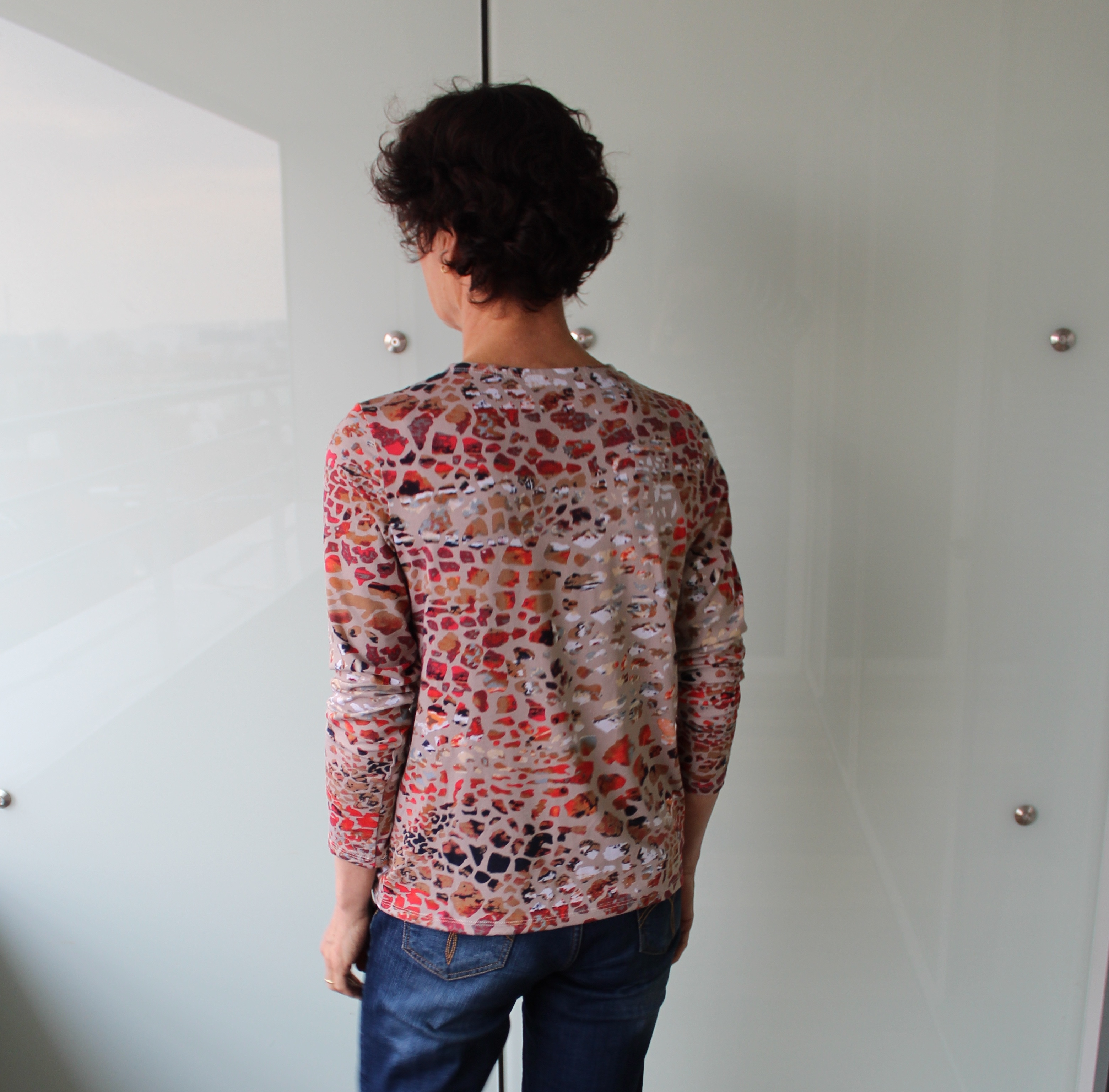 Elle Puls knotenshirt Shirt Mahé