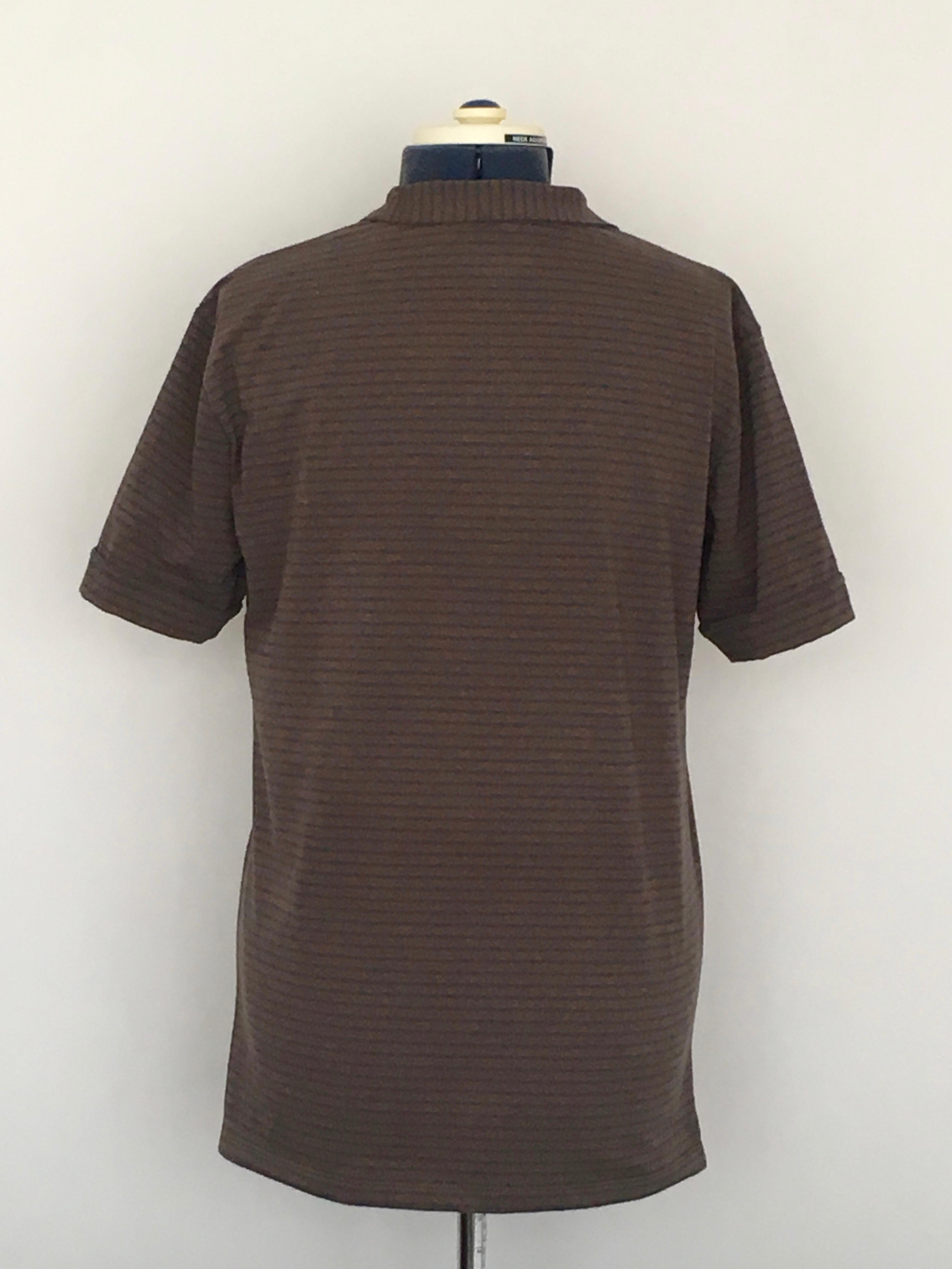 Kwik Sew 3484 pattern poloshirt hack