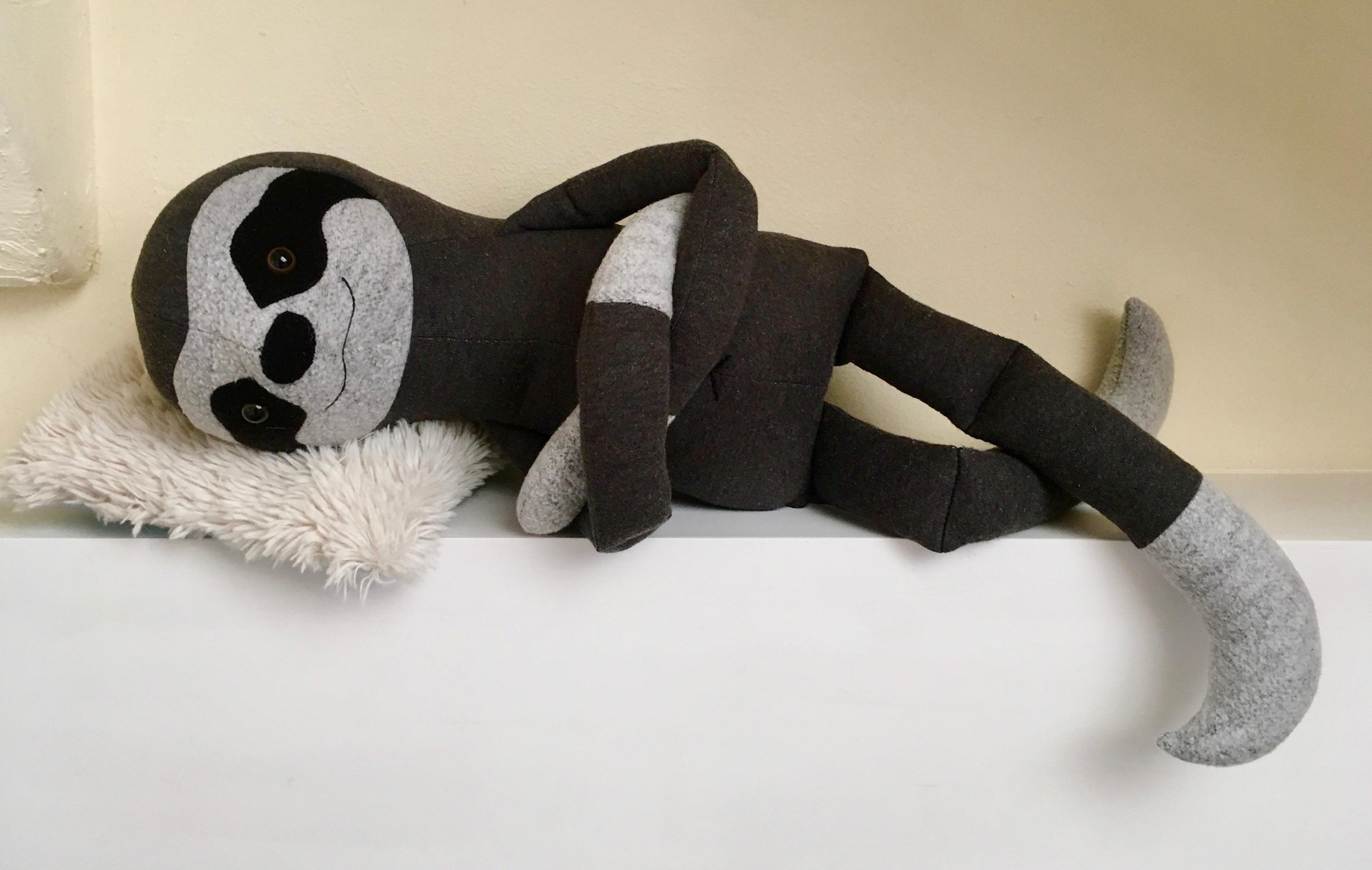 Crafty Kooka Sloth pattern #MDPM