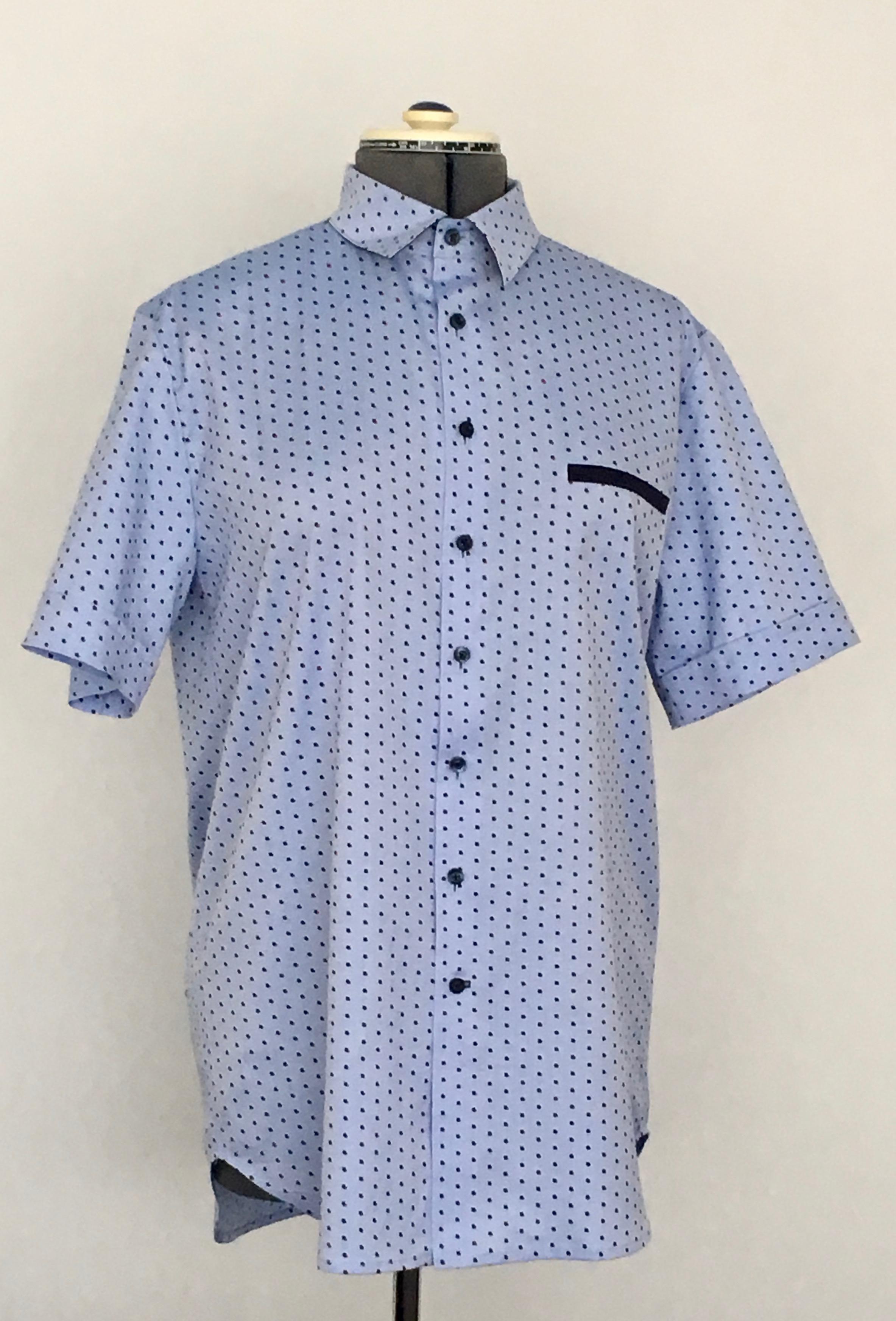 LMV Bernie Hemd licht blauwe versie
