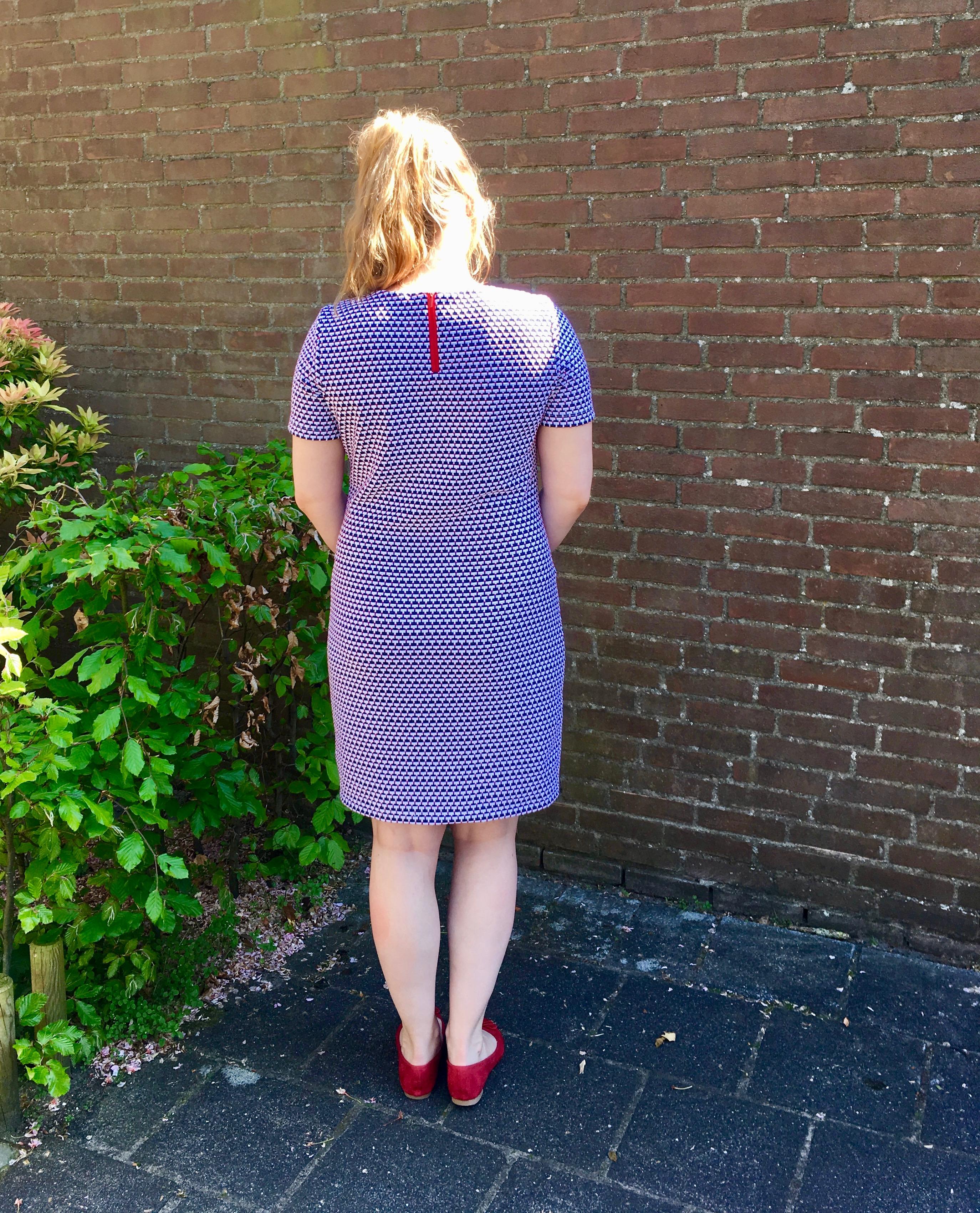 Zomerse Homemade basic T-shirt jurk