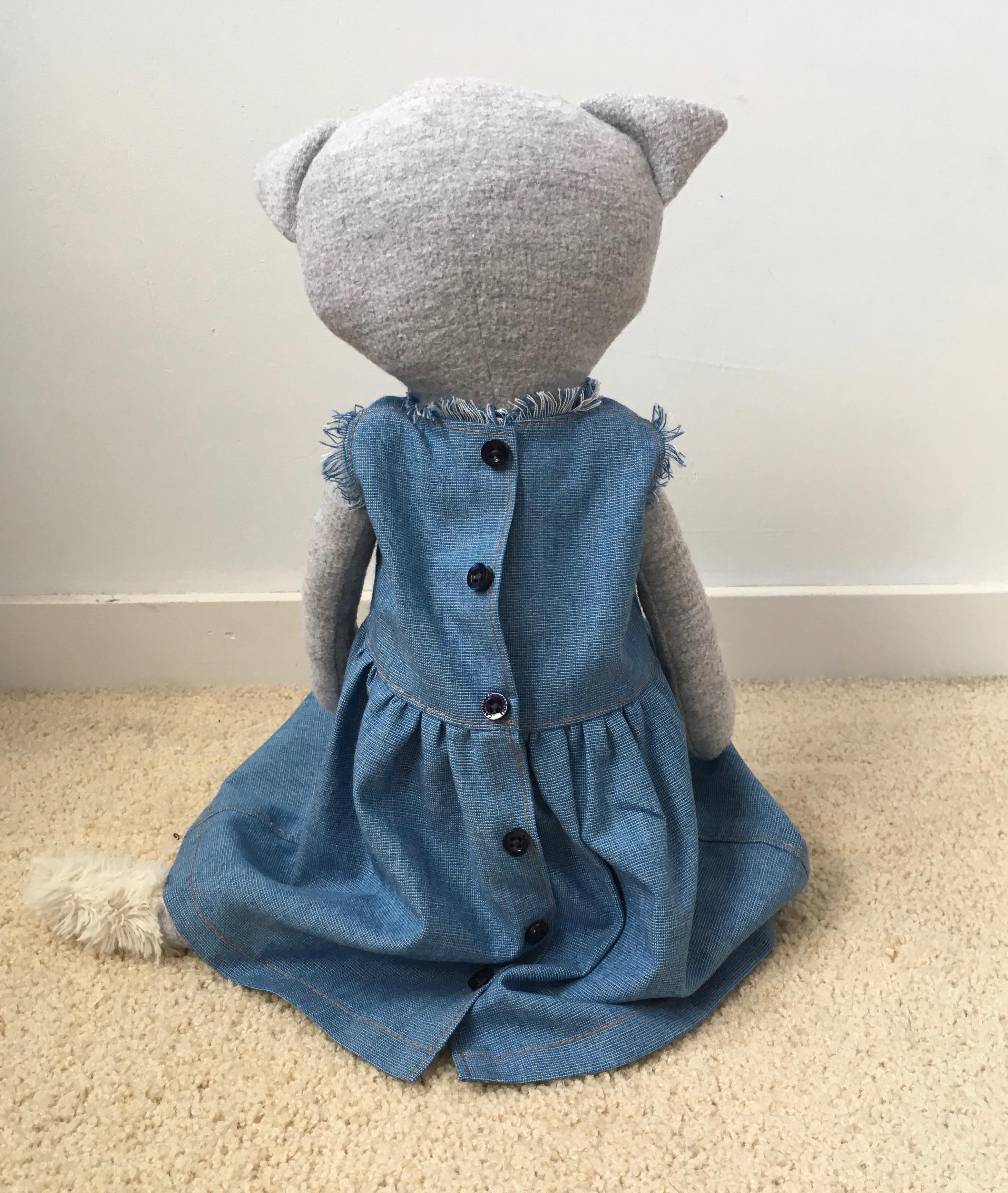 Sew Magazine Clementine Cat