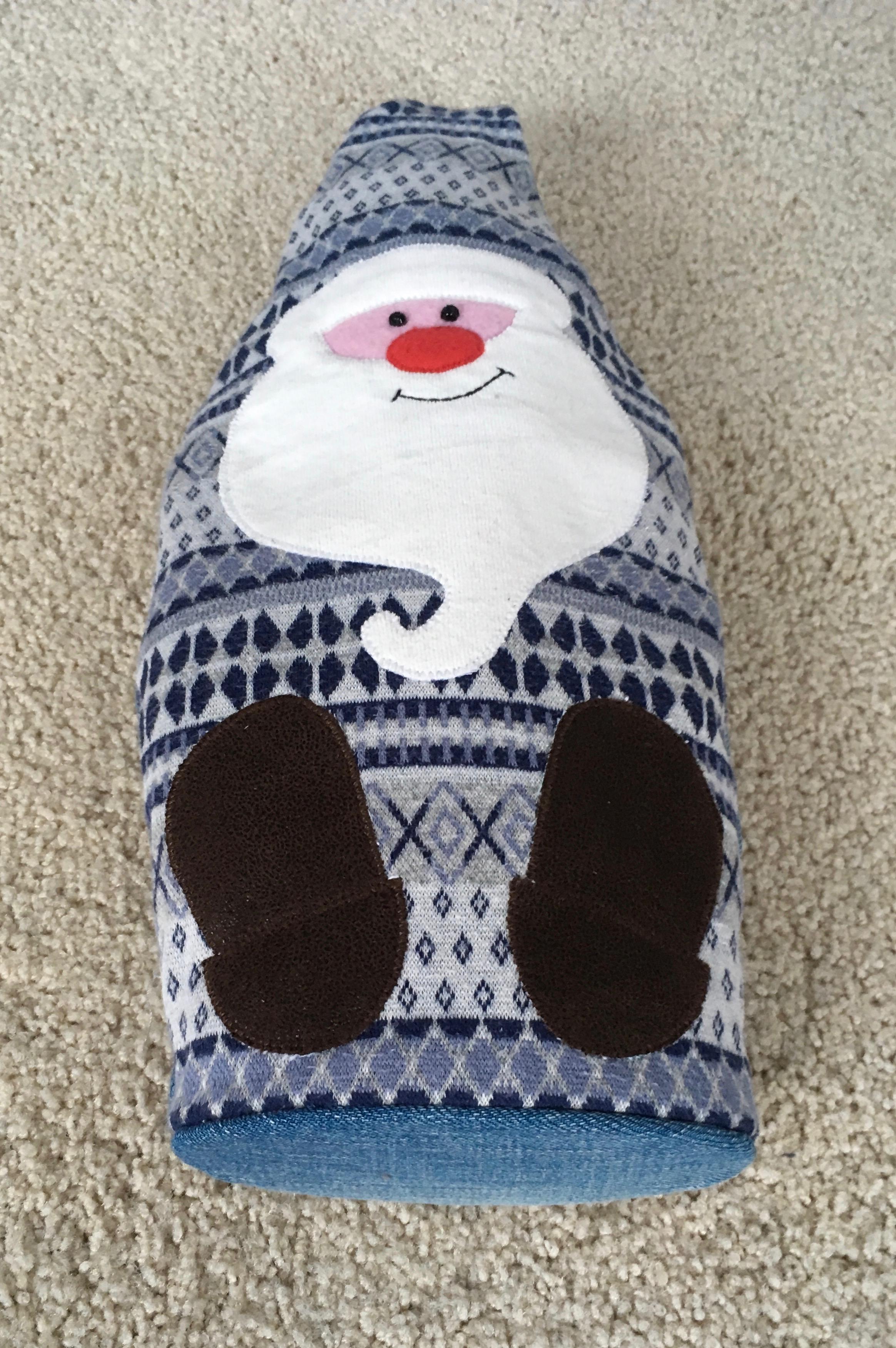 Zelfgemaakte Kerstman brengt verrassingen