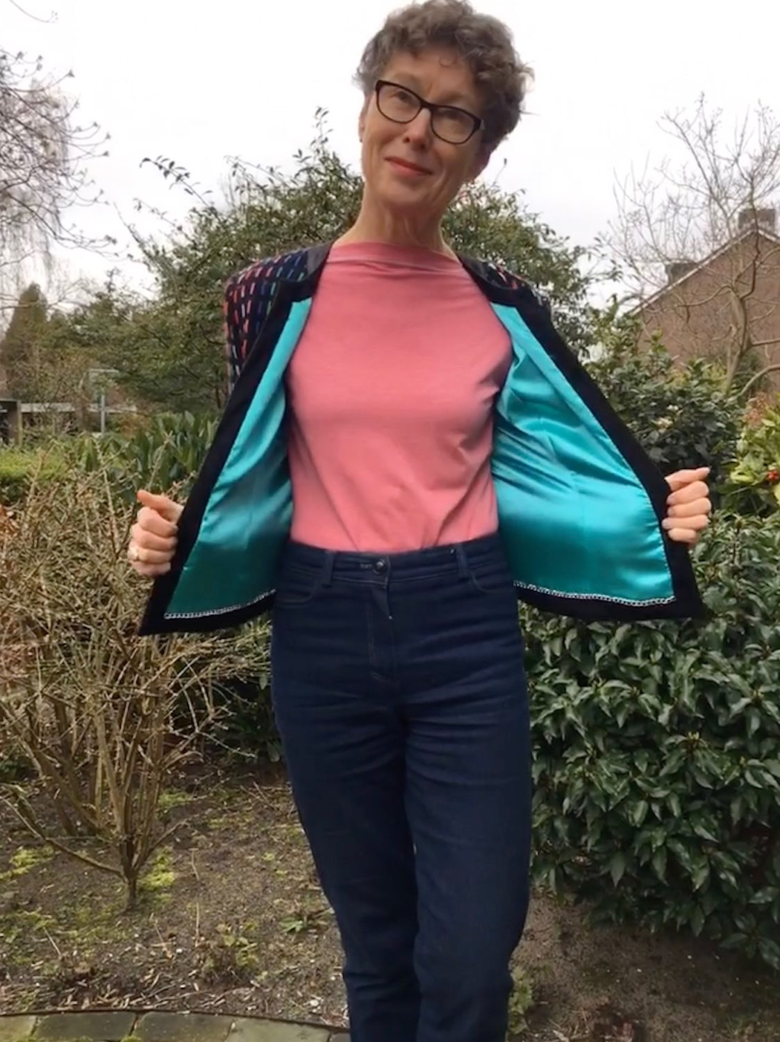 Homemade Chanel style jacket