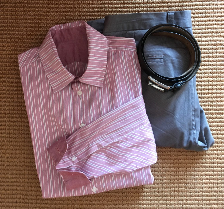 Gestreepte LMV Cliff hemd